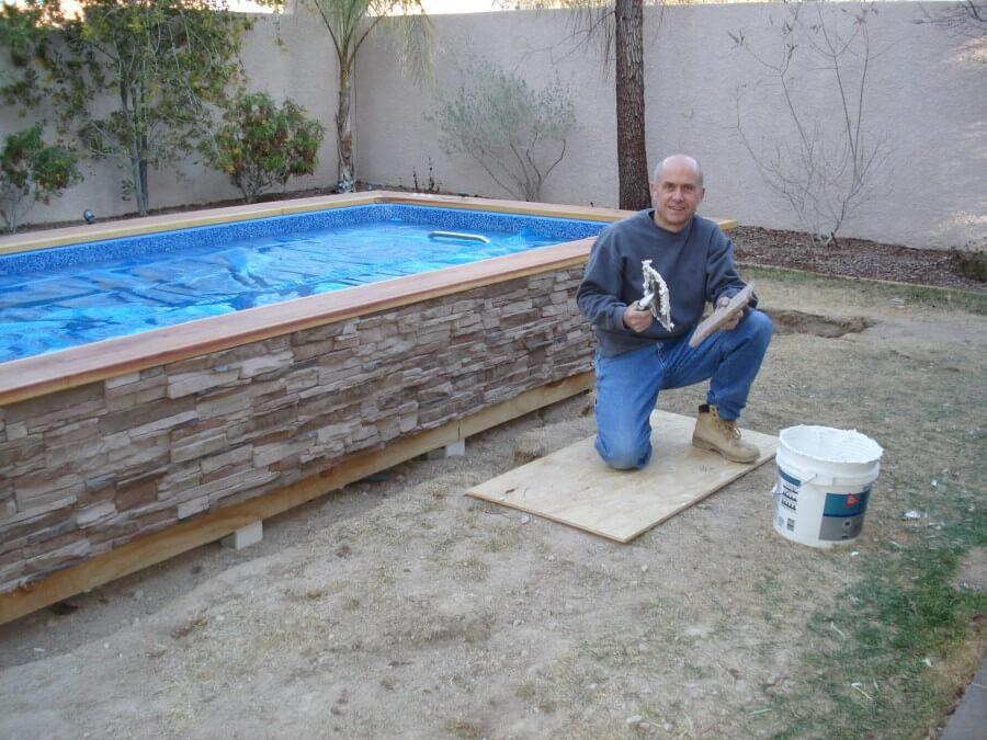 concrete swimming pool myself