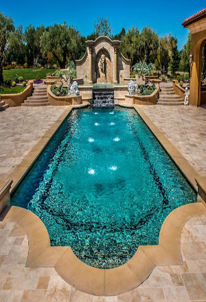 правоъгълен завършен басейн